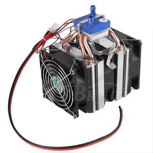 1pc Thermoelectric Cooler Refrigeration Water Diy Cooling System Fr Fish Tank Dh
