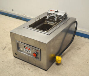 Wells F586 15 lb Auto lift Autofry Deep Fryer Fat Damaged Button