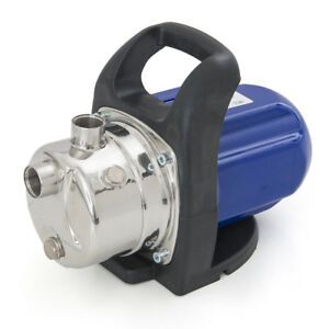 1200w Shallow Well Electric Garden Pressurized Water Jet Pump Stainless 925gp