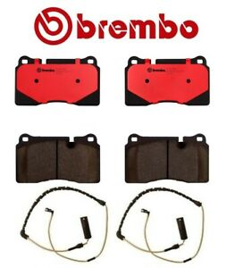 For Range Rover Supercharged 4 2l 06 09 Front Disc Brake Pads Sensors Brembo
