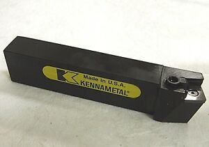 Kennametal Indexable Turning Toolholder 1 1 2 X 1 15d Angle Csrpl866e 1096928