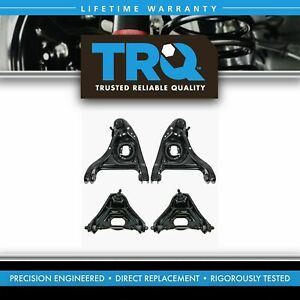 Trq Front Upper Lower Control Arms W Ball Joints 4 Piece Set For Chevy Buick