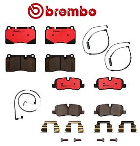 Brembo Front rear Pad Kit sensors For Land Rover Range Rover 4 2l Supercharge