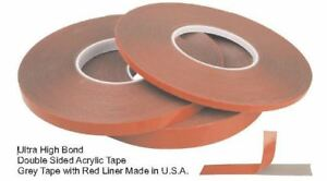 1 2 X 60 Ultra High Bond Double Sided Attaching Tape Compare To 3m 6382