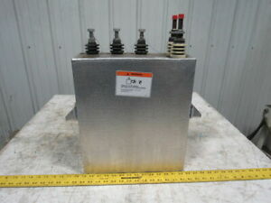 Ge General Electric 19l822td3 Water Cooled Induction Heating Capacitor 720vdc