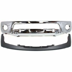 New Kit Bumper Face Bar Front For Nissan Frontier 2005 2008