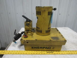 Enerpac Compact Modular Hydraulic Pump Power Unit 110 230v 1 5hp 1750rpm