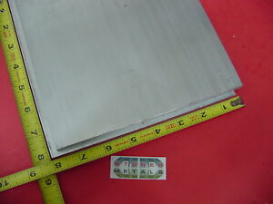 2 Pieces 3 8 X 8 X 8 Aluminum 6061 Flat Bar Solid T6511 New Mill Stock Plate
