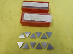 12 Carboloy Usa Tpg 320 F Indexable Carbide Inserts Lathe Mill Cutting Tool Bits