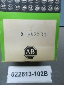 Allen Bradley 3 Pos Rotary Switch X 342531 High Low Off 1 Hp 115 230 Vac