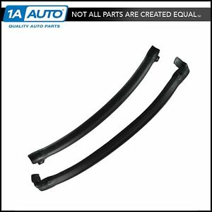 T top Side Rail Seals Rubber Weatherstrip For 442 Grand National Monte Carlo