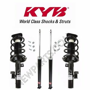 For Mazda 3 Front Rear Strut Assemblies Shock Absorbers Kit Kyb New
