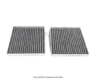 For Bmw F25 X3 Cabin Air Filter Set For Fresh Air Activated Charcoal Airmatic