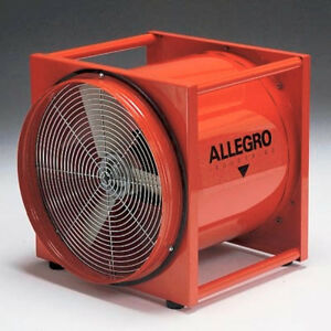 Allegro Confined Space 16 Standard Axial Blower 3400 Cfm free Air
