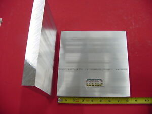 2 Pieces 1 X 8 X 8 Aluminum 6061 Solid Flat Bar T6511 New Mill Stock Plate