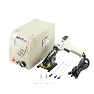 Pro Digital Desoldering Rework Station Zd 915 480 Iron Gun Built in Vacuum Pump