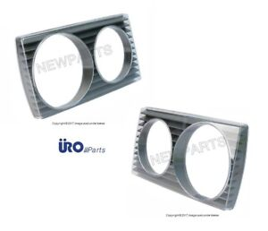For Mercedes W123 230 280ce 300d Pair Set Of 2 Right left Headlight Doors Uro