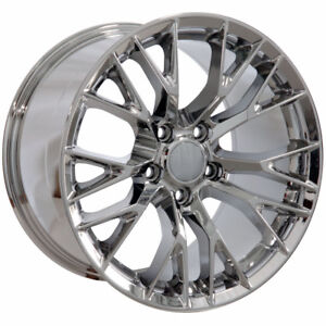 Chrome Wheel 17 X 10 For 1993 2002 Chevy Camaro Owh4007