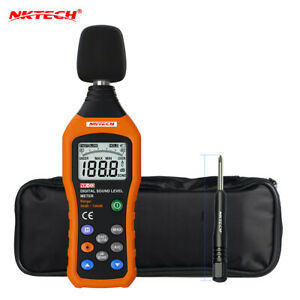 Nktech Nk d3 Digital Sound Level Noise Meter Logger Tester Audio Decibel Monitor