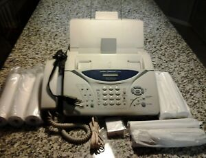 Brother Intellifax 1270e Used Great Condition Fully Functional 7 Rolls Fax Paper