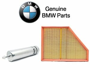 Bmw E90 335d Base Sedan 3 0l L6 Tdi 09 11 Pair Set Of Fuel And Air Filters Oes