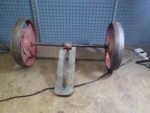 Vintage Gravely Rotary Plow Cultivator Etc 24 Wheel Attachment 1