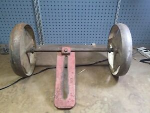 Vintage Gravely Rotary Plow Cultivator Etc 24 Wheel Attachment 5803