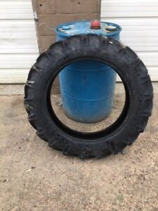 Two New 8 3x24 8 3 24 Goodyear Duratorque Kubota 6 Ply Tractor Tires W wheels
