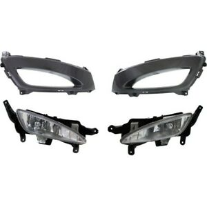 Fog Light Kit For 2011 2013 Kia Optima Front Left And Right 4pc