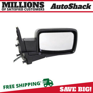 Side View Mirror Power Heated Black Passenger For 2006 2010 Jeep Commander 5 7l