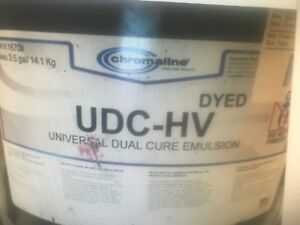 Chromaline Udc hv Dual Cure Emulsion Violet 3 5 Gallon