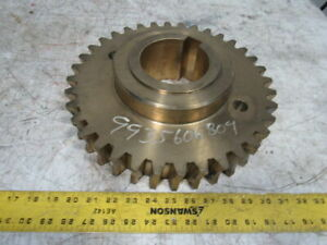 Koike Aronson 9935 6068 04 Ge1200 Gearbox Sub ass y Primary Worm Gear 4 Bore