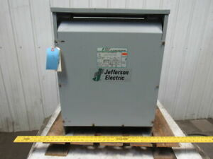Jefferson Electric 423 3194 055 480v Pri 208y 120v Sec 30kva 60hz Transformer