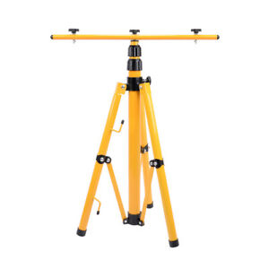 Tripod Stand W T Bar For Led Flood Light Camp Construction Site Work Lighting
