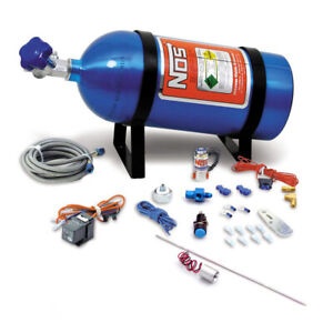 Nos 16029nos Nos Ntimidator Illuminated Led Purge Kit With 10 Lb Bottle