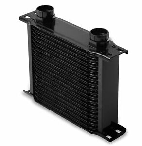 Earls 21900aerl Earls Temp A Cure Oil Cooler Black 19 Rows Narrow Coole