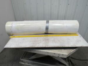 3 ply White Smooth Top Conveyor Belt 37 X 49 X 0 083