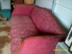 Early 1900 S Antique Victorian Settee Sofa Chaise Couch Vintage Nice