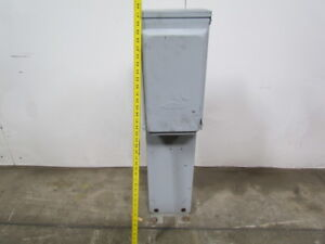 Midwest Electric U075cb4010 Back To Back Power Outlet Pad Mount 100amp Max 3r Rv