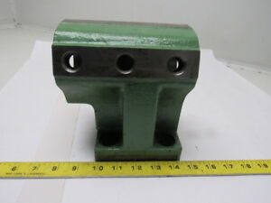 Hitachi Seiki 1595 328 2 1 2 Id Turret Tool Holder Block 20mm Alignment Groove