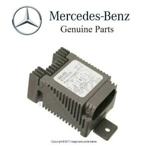New Mercedes W208 Clk320 Auxiliary Fan Control Unit Genuine 025 545 59 32 28