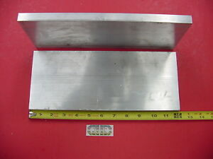 2 Pieces 5 8 x 5 Aluminum 6061 Flat Bar 12 Long T6511 Solid Plate Mill Stock