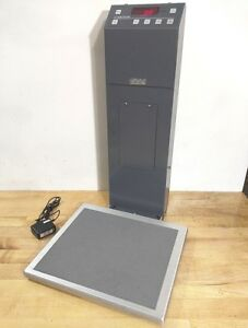 Welch Allyn Scale tronix 5122 Medical Health Fitness Digital Patient Stand Scale