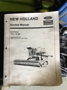 New Holland Combine Service Manual Tr75 Tr85