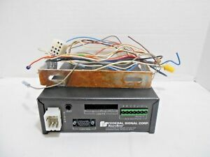 Federal Signal Corporation Ss2000 ercsn1 Electronic Siren light Control System
