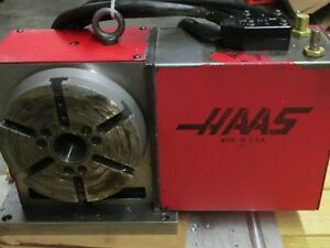 Haas Hrt 210 Cnc 4th Axis Rotary Table