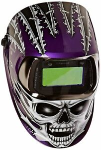 3m 49956 Speedglas Raging Skull Welding Helmet 100 With Auto darkening Filter