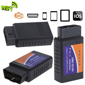Wifi Elm327 Obdii Obd2 Auto Scanner For Iphone Android Pc Car Diagnostic Scaner