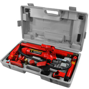 Hydraulic 4 Ton Body Frame Repair Kit Porta Power Tools Auto Shop Ram Body Lift
