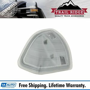 Trail Ridge Tow Mirror Turn Signal Clear Driver Lh For Dodge Ram Pickup Truck